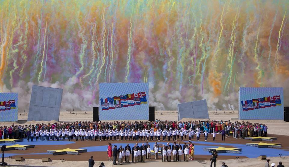 """D-DAY """"cérémonie internationale commémorative du 70ème anniversaire du débarquement de Normandie"""""""